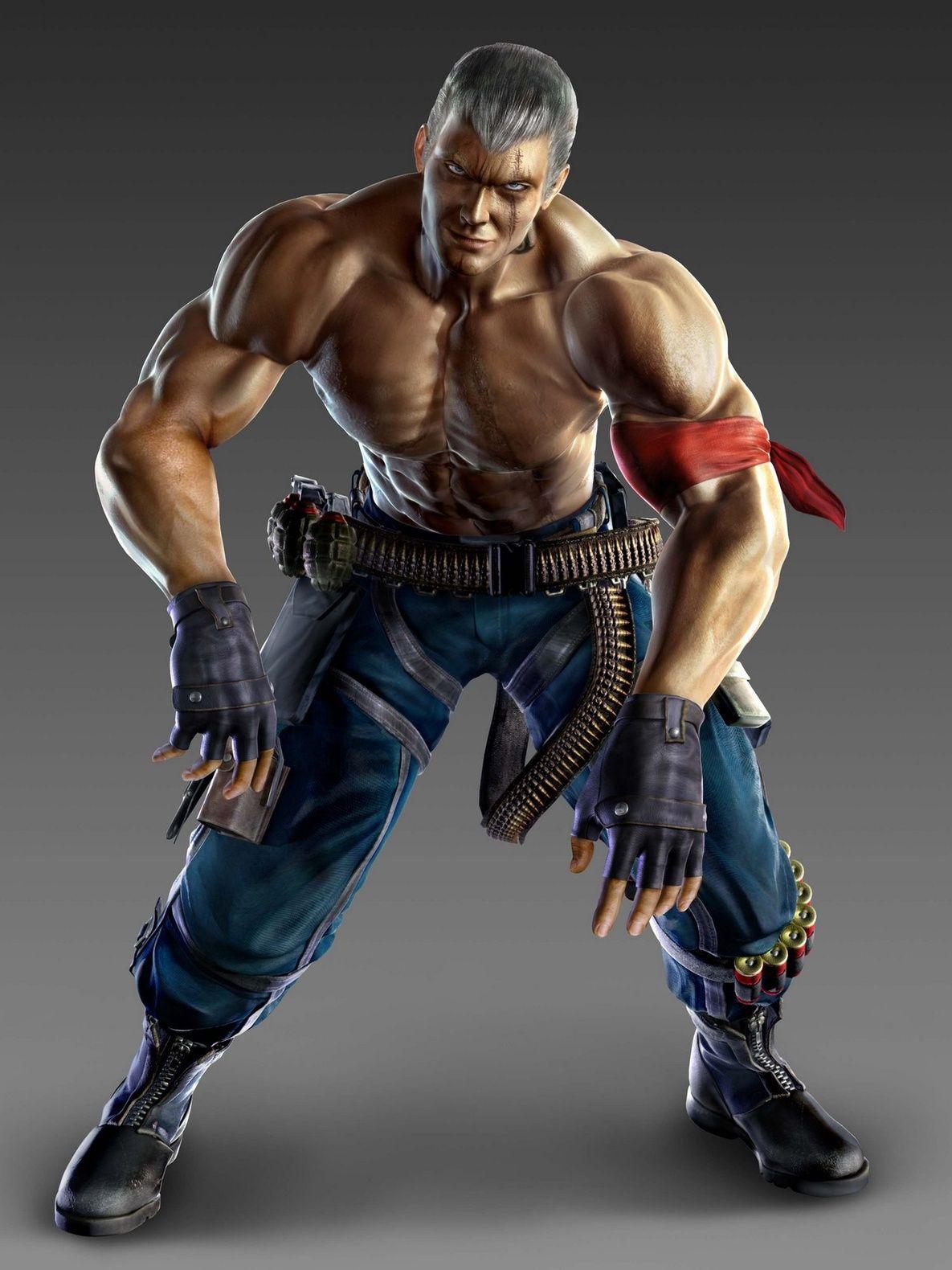 Tekken 6 Bryan Fury Video Game Art Mobile Wallpaper