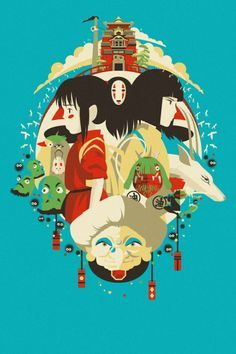 Studio Ghibli on Pinterest   Spirited Away, Howls Moving Castle ...