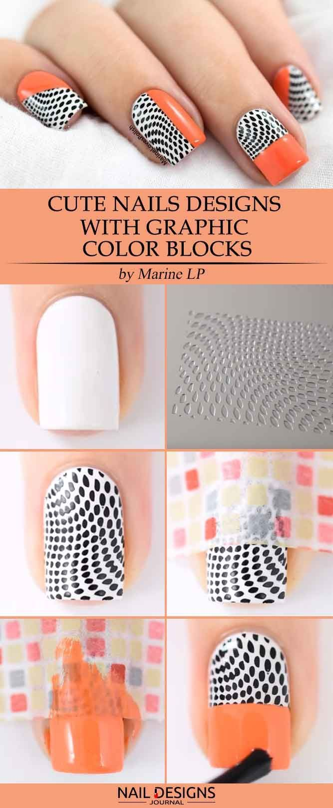 Easy Tutorials Different Nail Designs Step By Step See More