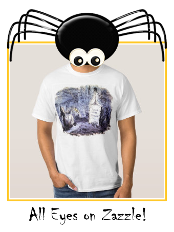 Ghost in the graveyard T-shirt |  Ghost in the graveyard T-shirt
