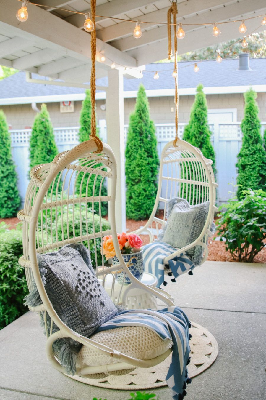 Outdoor decorating Ideas: My Summer Porch and Patio ...