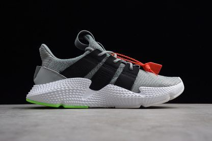 the best attitude 8b5ac 5eb80 New adidas Prophere Shoes Wolf Grey Black Shock Lime-2