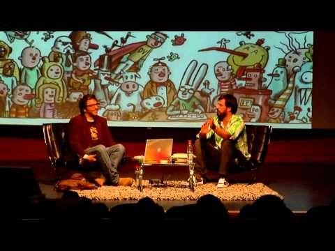 Charla Liniers con Alberto Montt en Fundación Telefonica