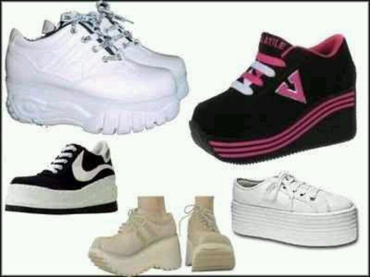 30f0d1325d6f Spice Girl shoes I lived for these in the 90s omg such memories ...