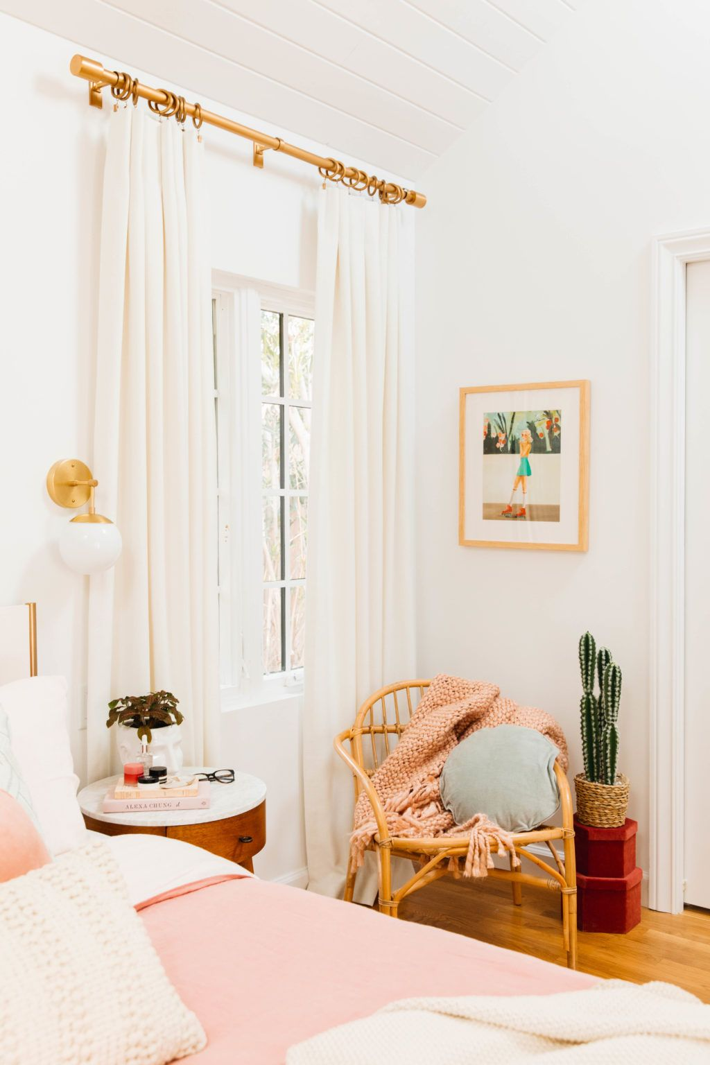 Our Blush Master Bedroom Reveal