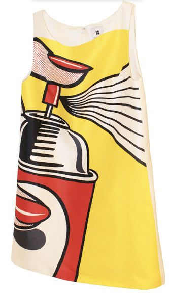 Pop Art dresses by Lisa Perry
