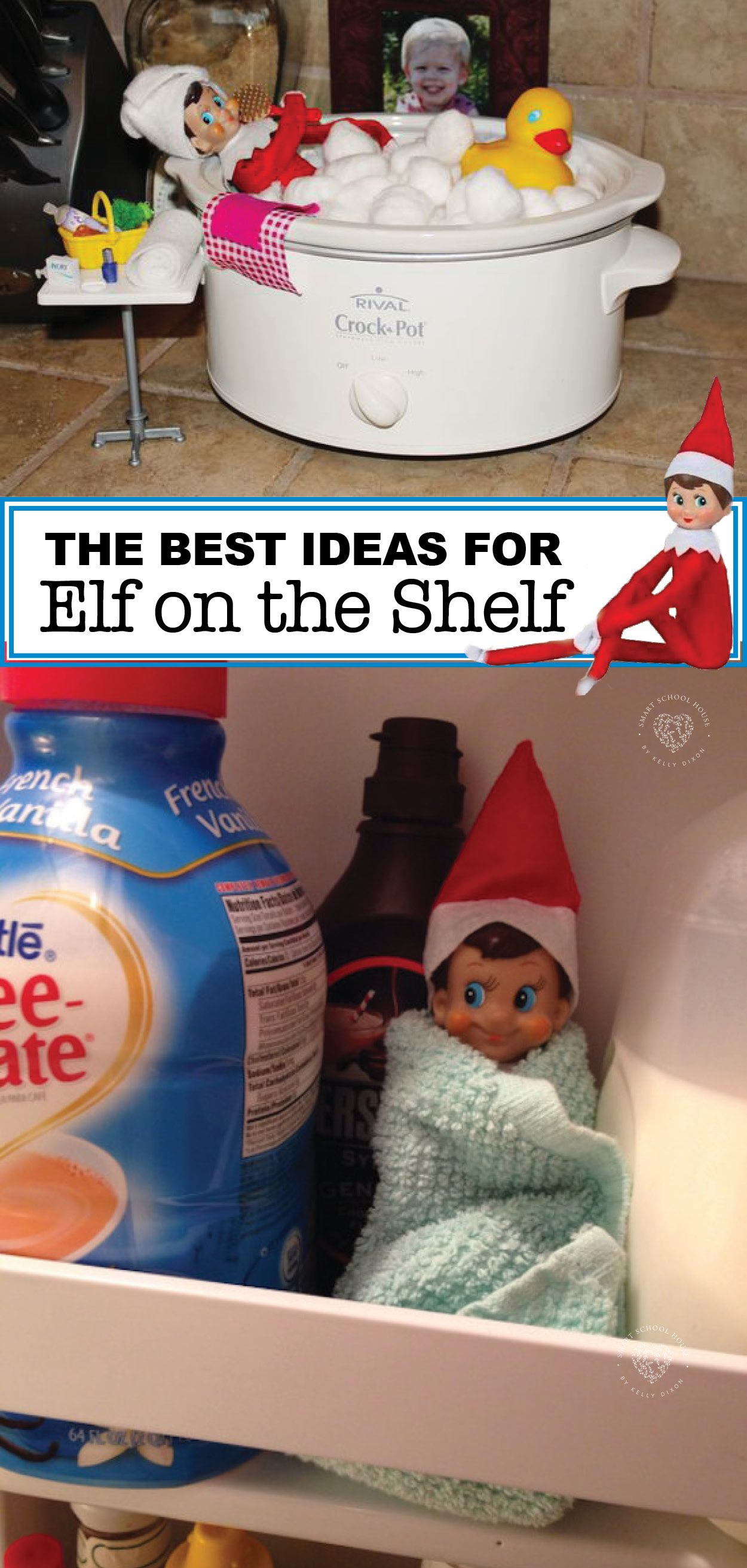 The BEST Elf on the Shelf Ideas