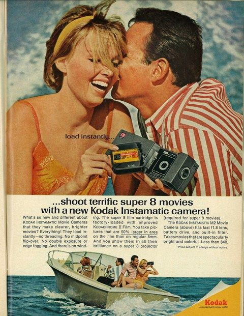 Awesome Vintage Kodak Camera Ad | Awesome Ads And Clever