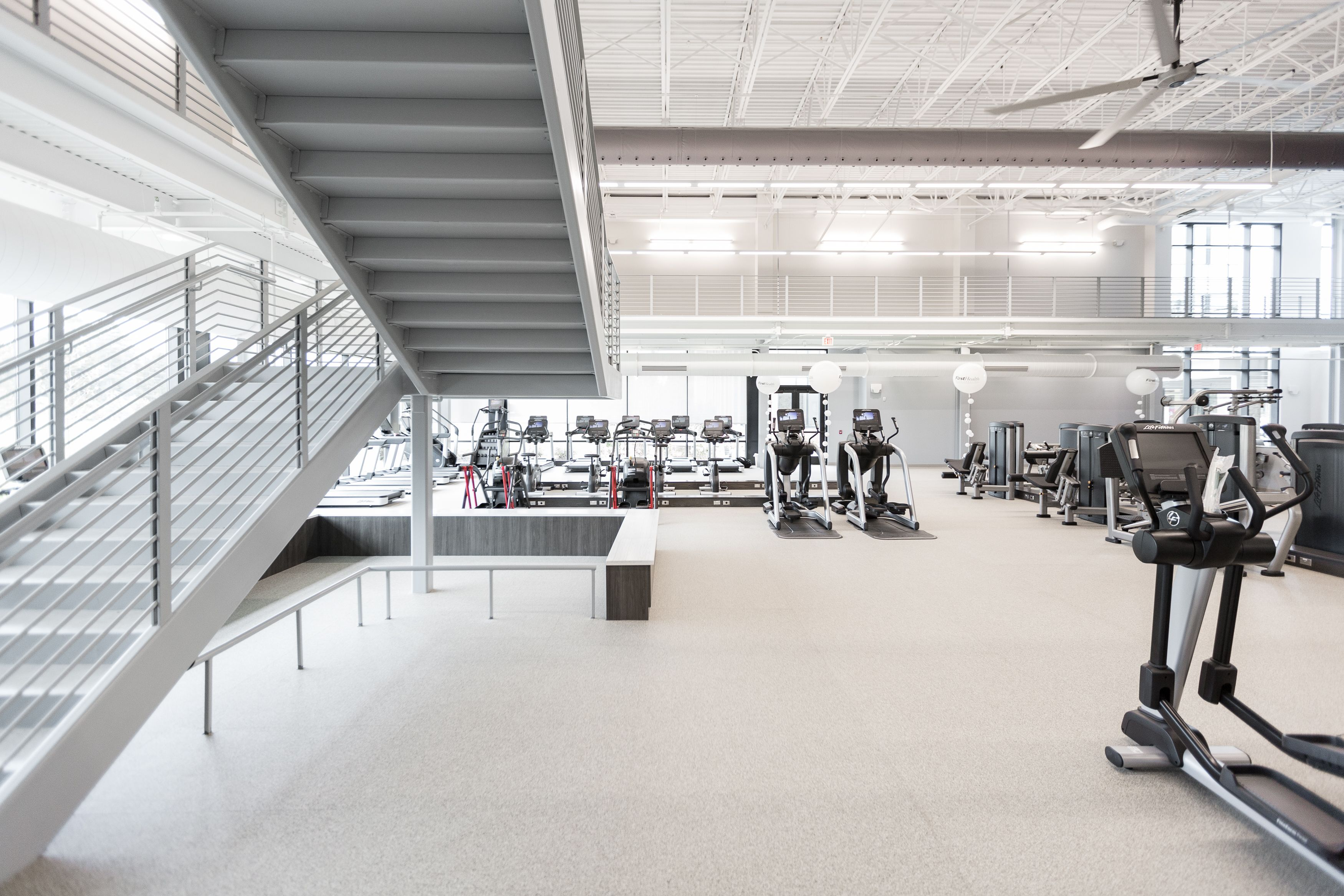 Firsthealth Fitness Lee Campus Sanford Nc Ecore Ecosurfaces Ecofit Spartansurfaces Recycledrubber Fitn Transparent Design Health Care Recycled Rubber