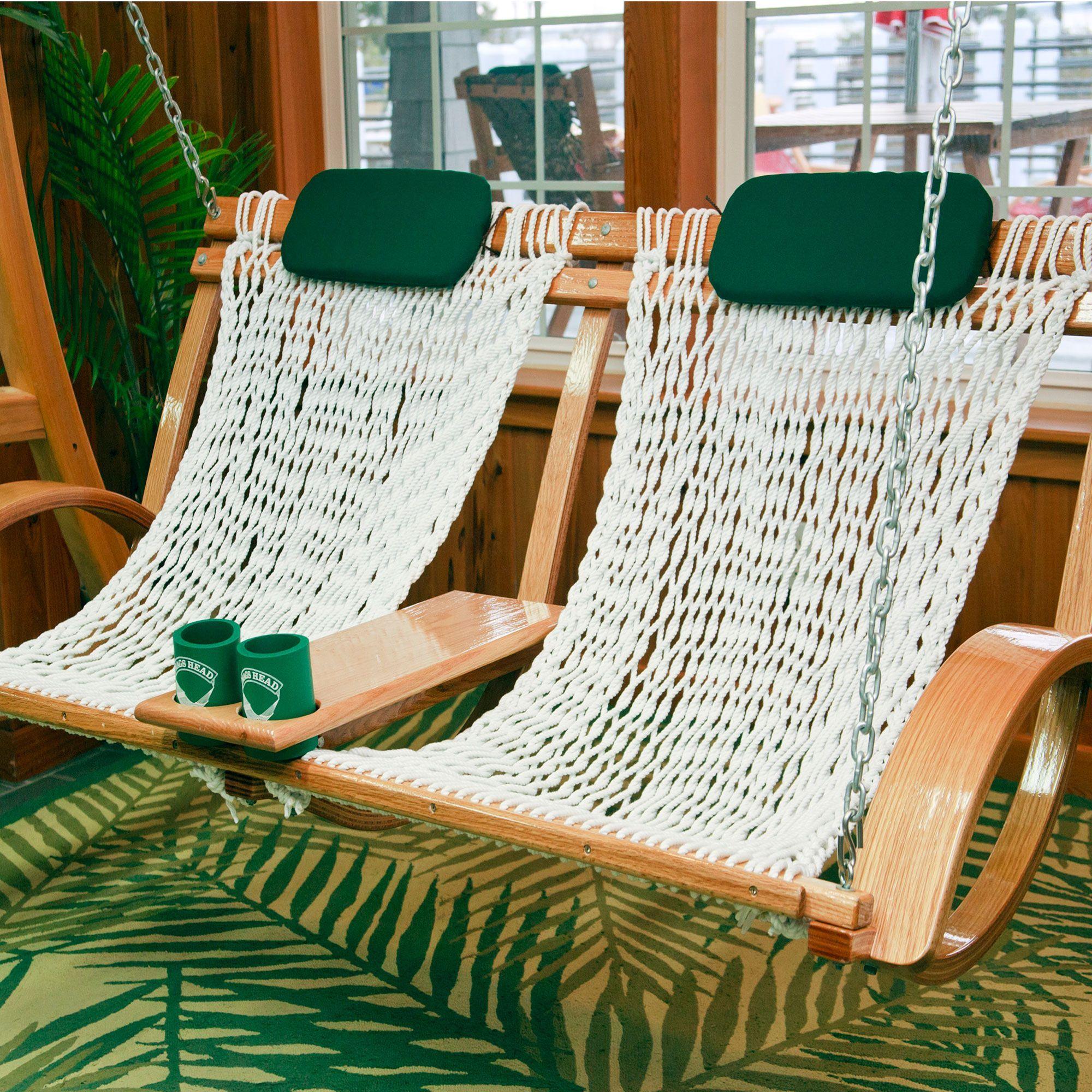 Garden Furniture Hammock Swing deluxe bent oak porch swing | lawn.garden.outdoors | pinterest