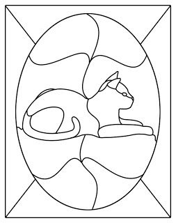 stained glass patterns for free: Free stained glass patterns many more to choose from