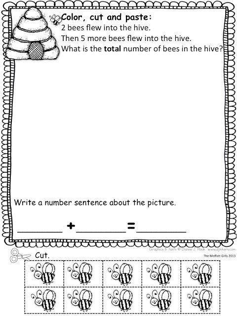 Spring Math Word Problems With A Freebie Math Word Problems Math Words Word Problems