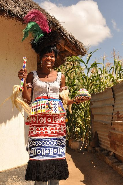 Venda Sangoma Dress | Peoples of the World | South african