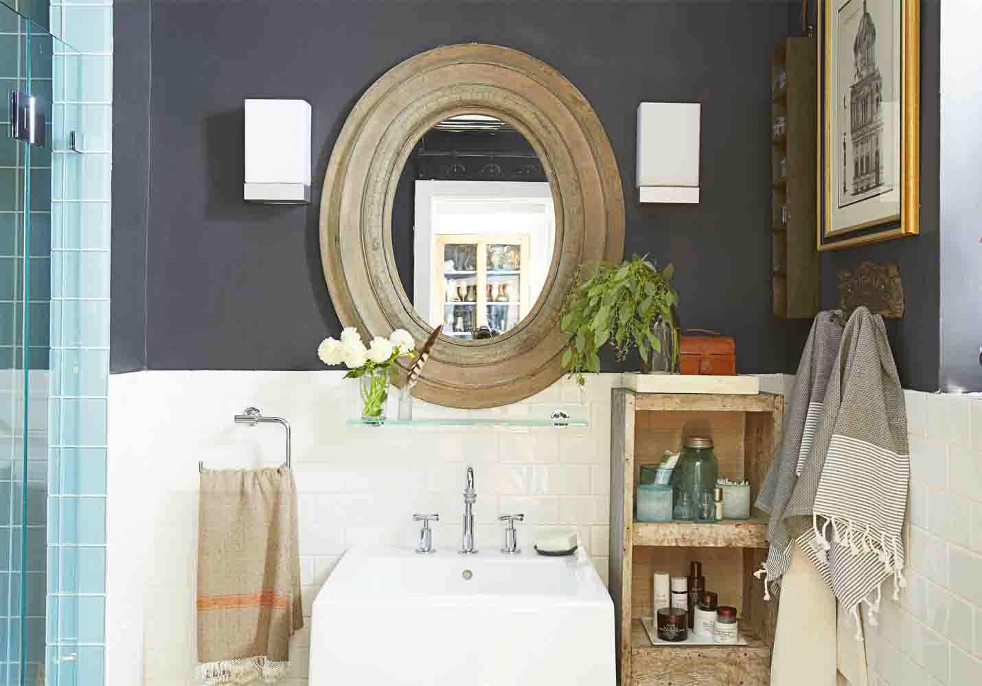 9 Creative Ways to Live Large in a Small Space   Bathroom ...