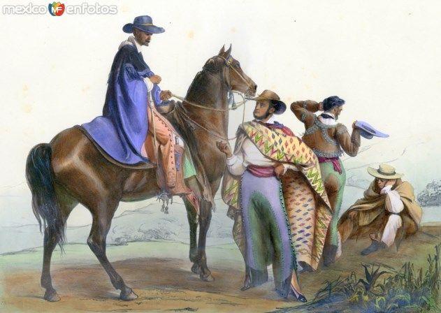 Fotos de , , México: Tipos mexicanos: Rancheros