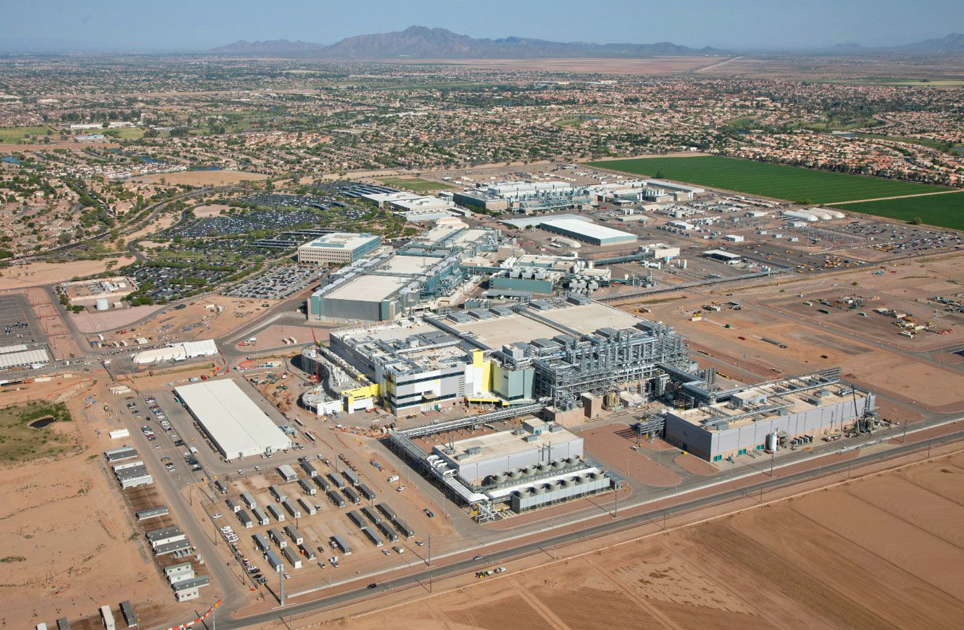 Intel Finally Plans To Finish Its Fab 42 Factory In Arizona Arizona Belye Doma Videokarta