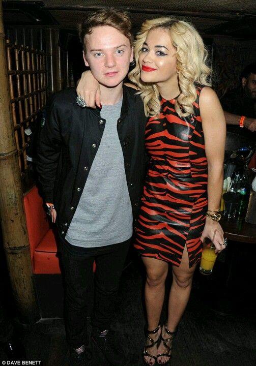Conor and Rita Ora