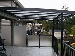 deck cover ideas for the house pinterest wall ideas privacy