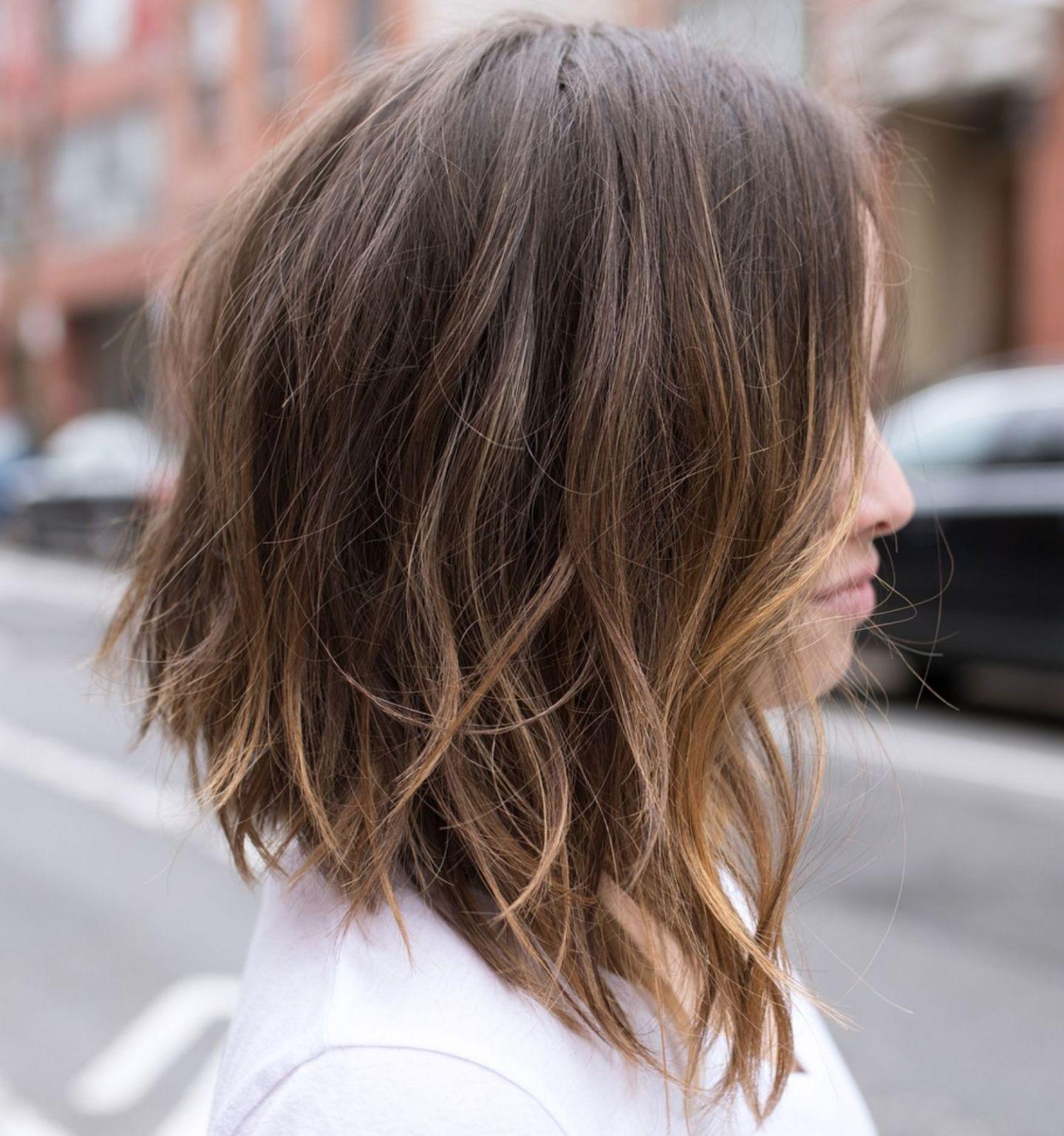 каре на длинные волнистые волосы фото может