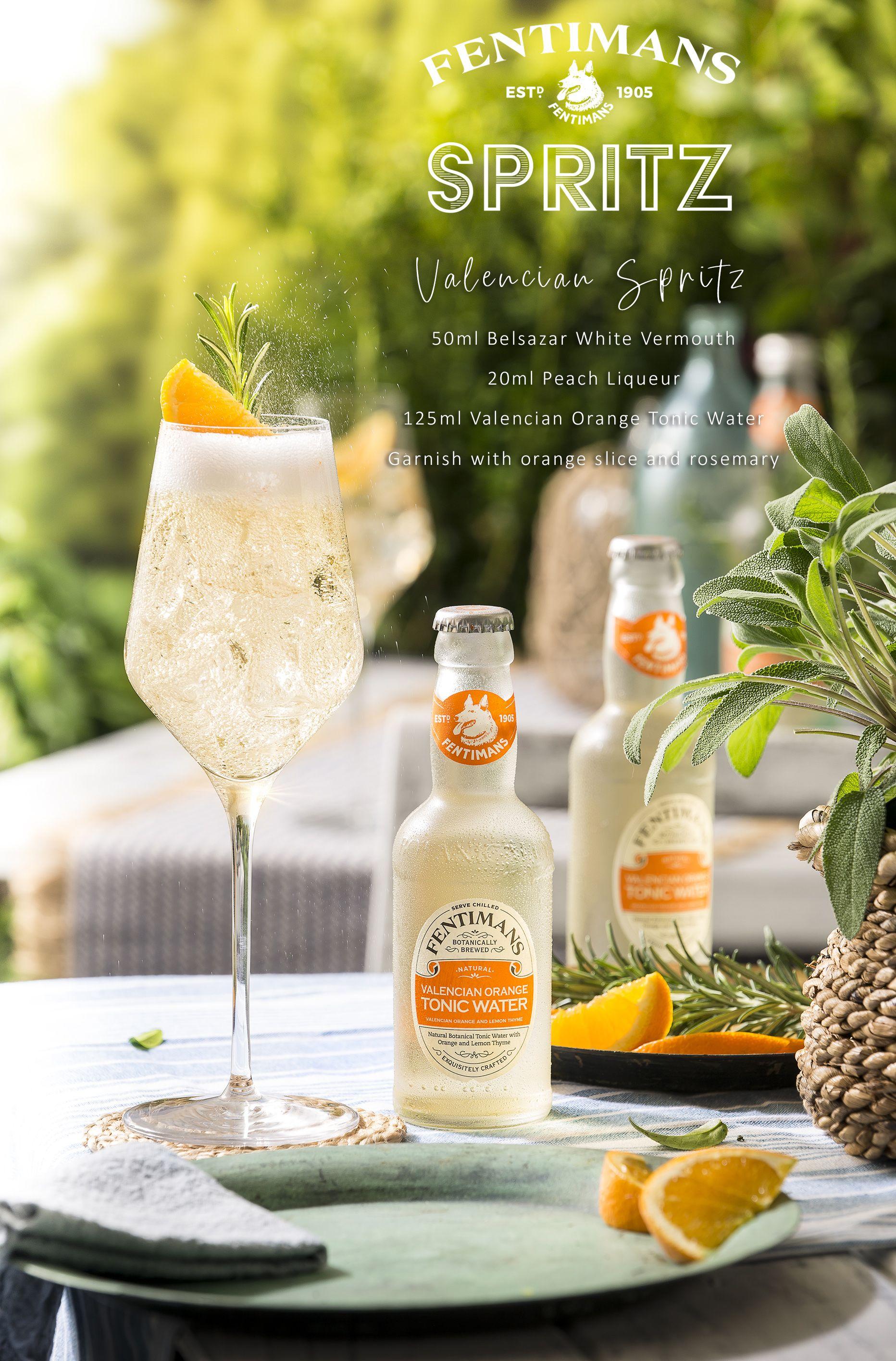 Fentimans Valencian Spritz in 2020 Summer cocktails