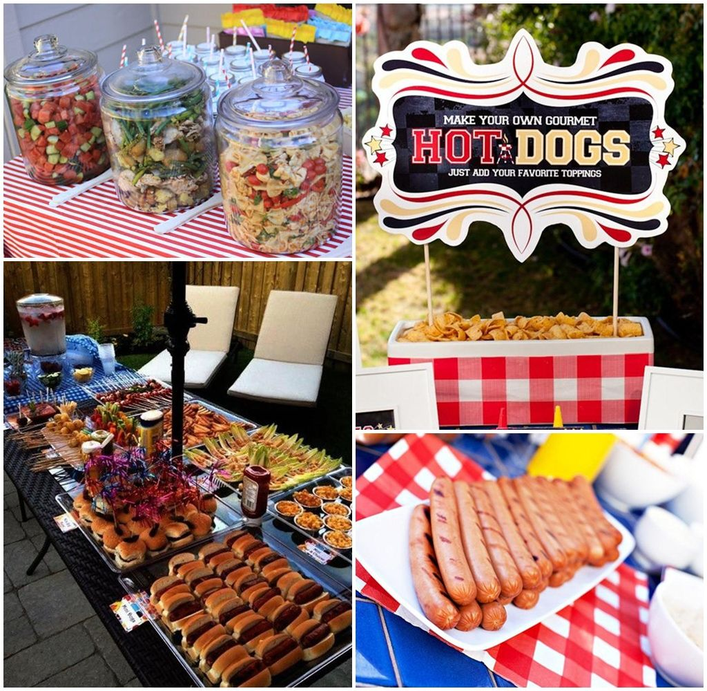 Cheap Barbecue Party Food Ideas | Back to school BBQ ...
