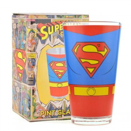Maxi Verre Superman sur Logeekdesign.com c370fea617e