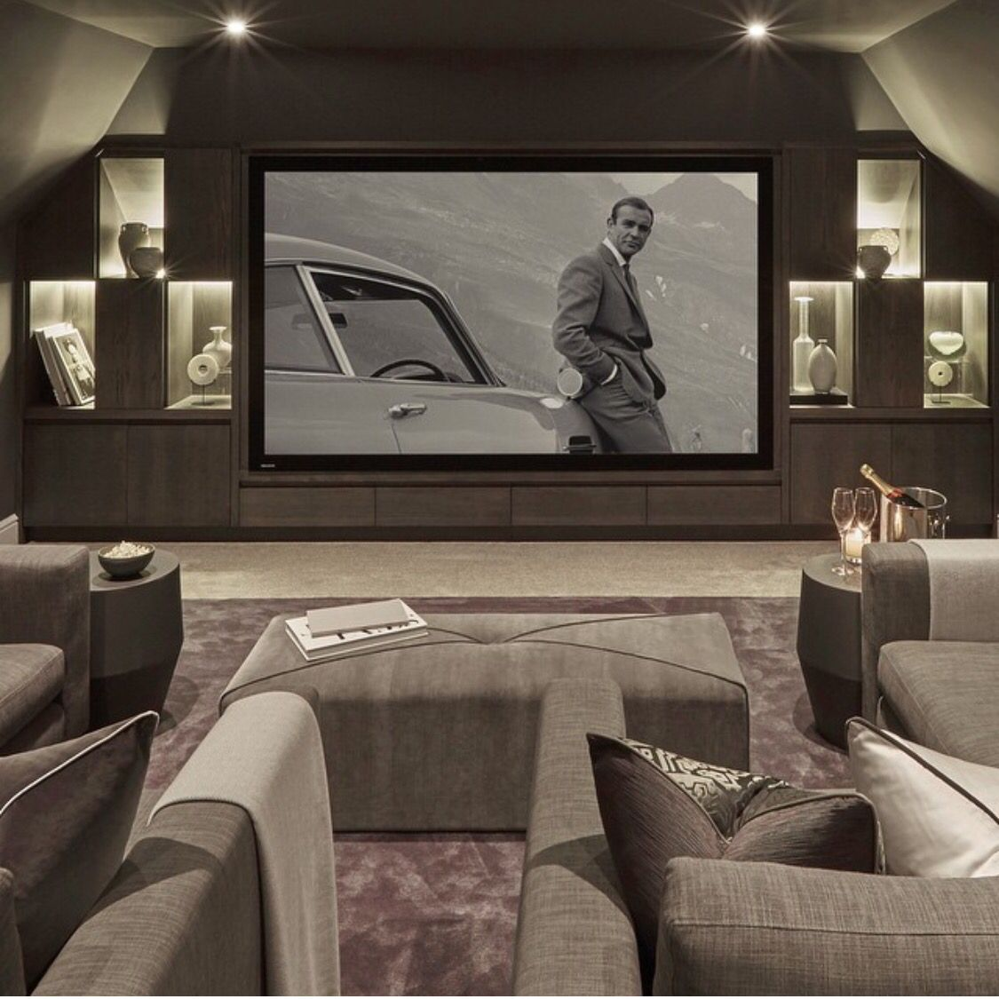 Living Room Theater Fau Phone Number: Theatre Room Design Idea