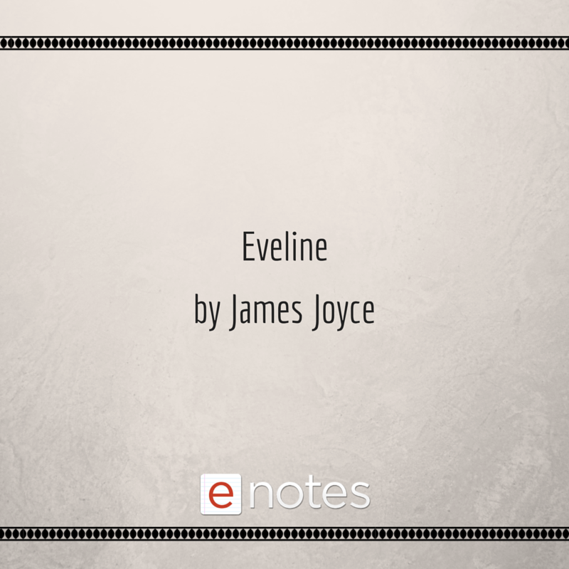 eveline short story text