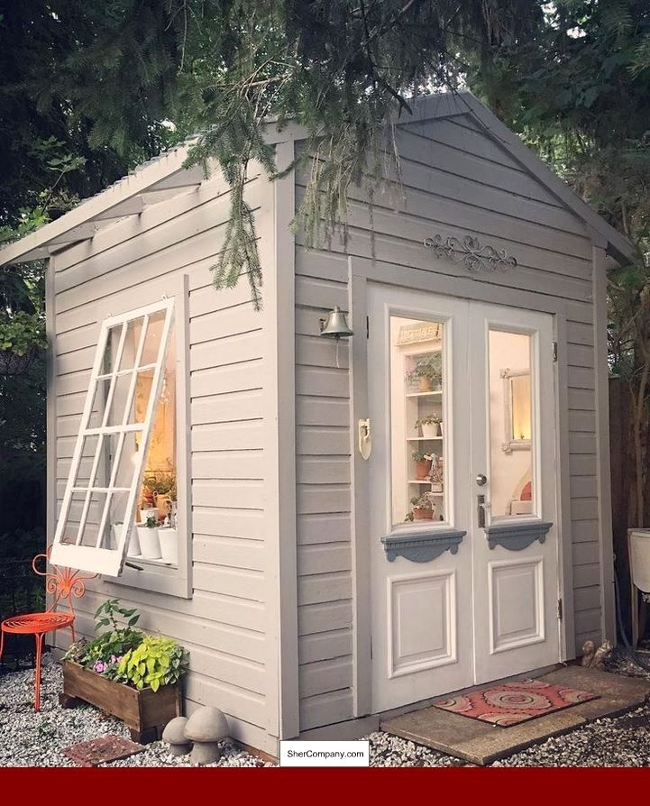 Garden Shed Plans 8 X 16 And PICS Of The Potting Shed