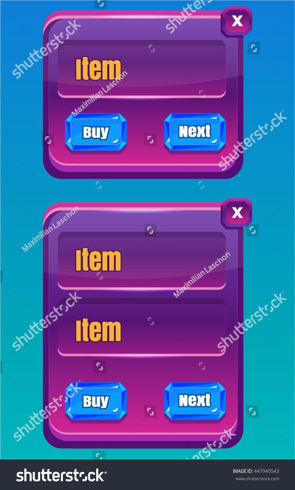 Mobile Game UI/ Asset Reskin | Mobile Game User Interface