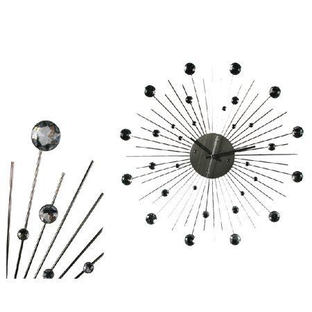 reloj de pared diseo cristal y metal su exclusivo diseo en cristal y metal lo