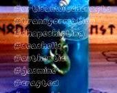 SIREN Selkie Mermaid Blue Pillar Candle w Seashells Sea Moss Orchid Jasmine More for Water Magick Transformation Shapeshifting mossSEA SIREN Selkie Mermaid Blue Pillar Ca...