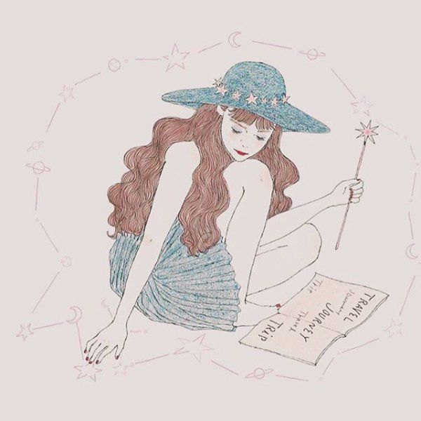 少女的イラストレーター Maegamimami の世界観が可愛いと話題に