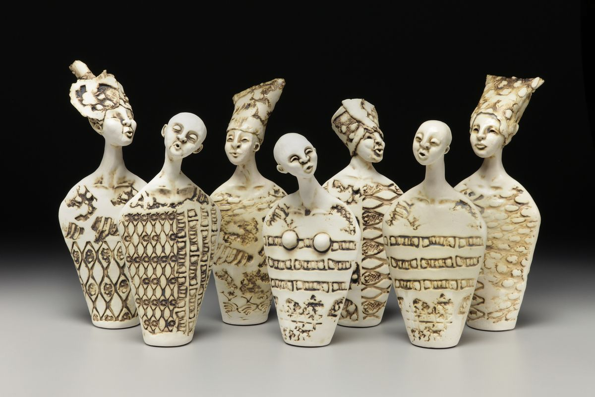 Contemporary ceramic sculpture by artist jenny mastin