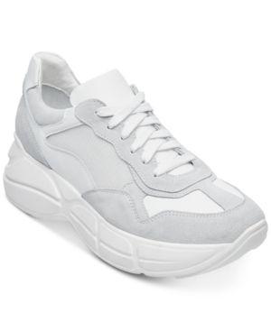 4e849fa5e60 Steve Madden Women s Memory Sneakers - White 7.5M