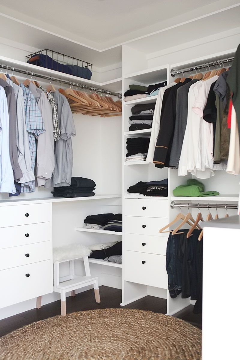 step stool for easy access & Walk in closet reveal | Closets | Pinterest | Master closet ... islam-shia.org