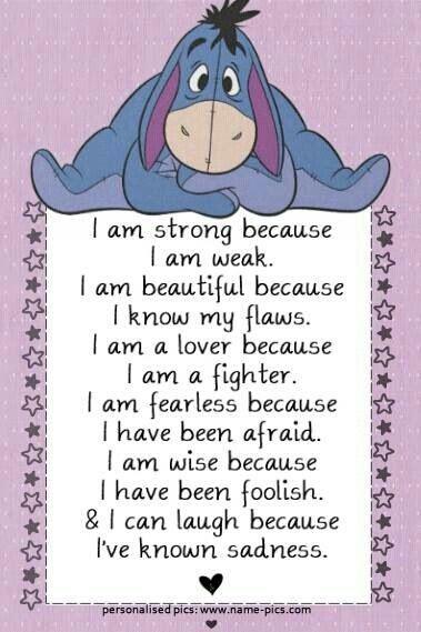 Eeyore Beautiful Words Pinterest Eeyore Quotes Disney Quotes