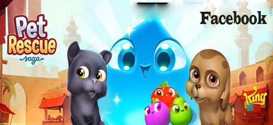 Facebook Pet Rescue Saga Game Pet Rescue Saga Pet