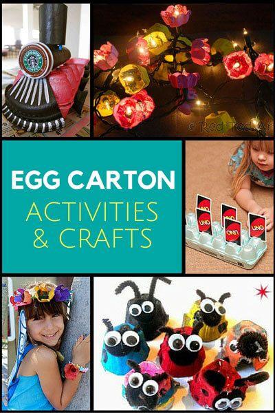 Egg Carton Crafts Activities Pinterest Egg Carton Crafts Egg