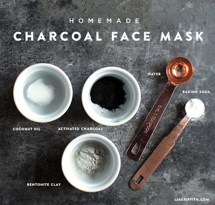Charcoal Face Mask Diy, Charcoal