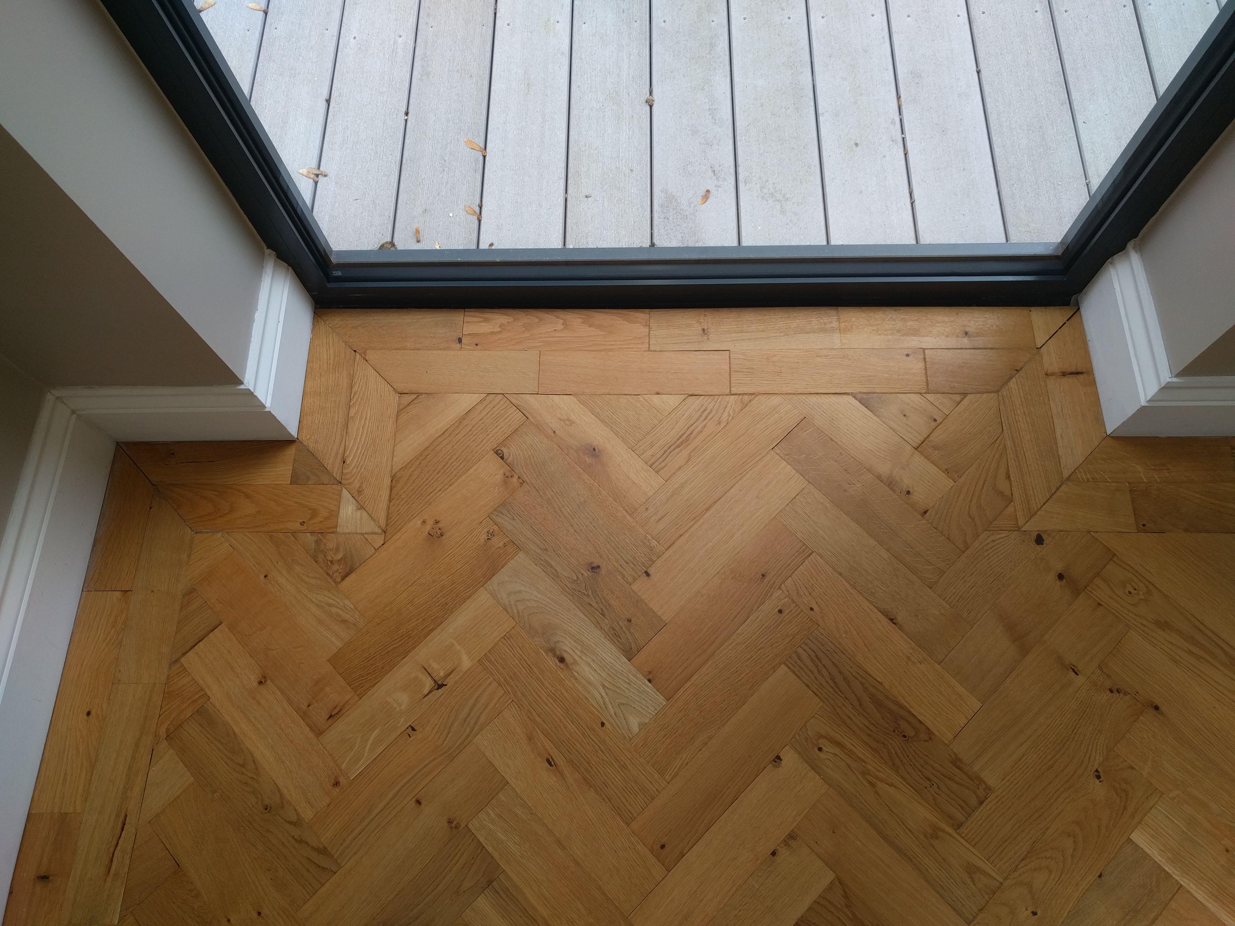 We Fitted This Oak Parquet In A Classic Herringbone Design