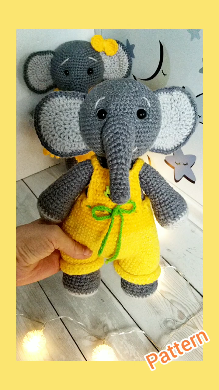 Toy elephant PATTERN pdf
