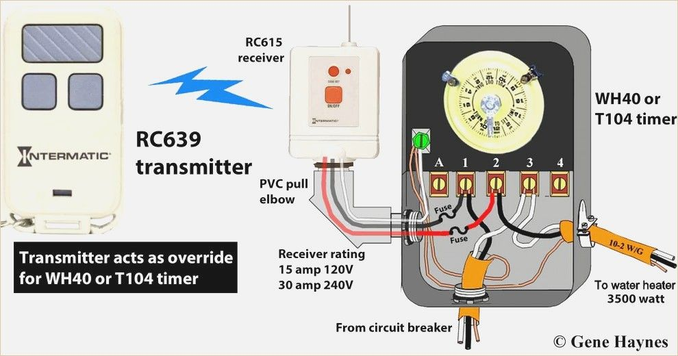wiring diagram for t104 pool timer how to wire intermatic