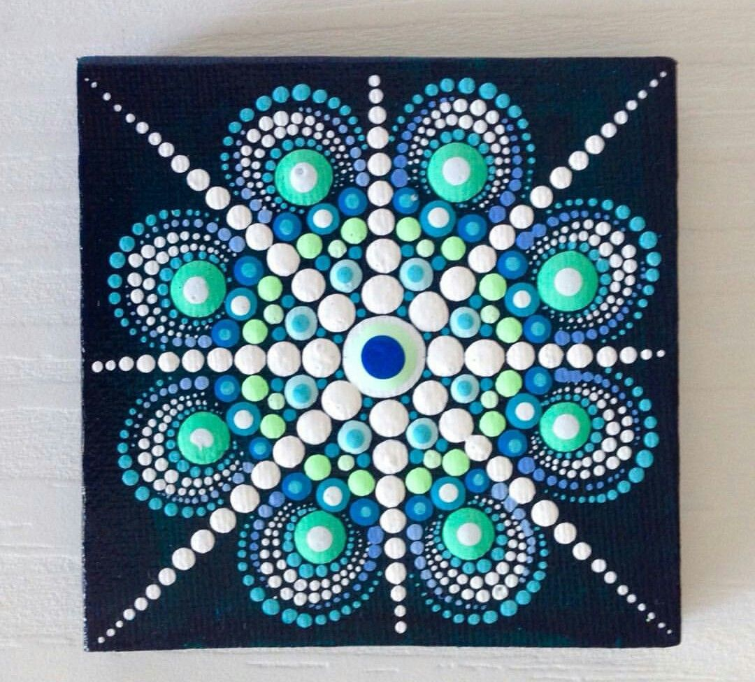 pin by theresa kline on craft show ideas pinterest mandala dot painting and rock. Black Bedroom Furniture Sets. Home Design Ideas