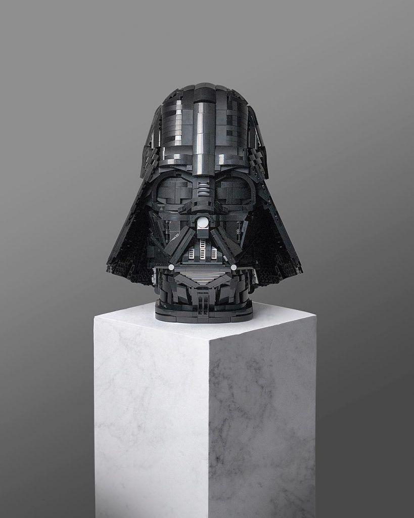 Play Visions Lego Darth Vader Head Lamp