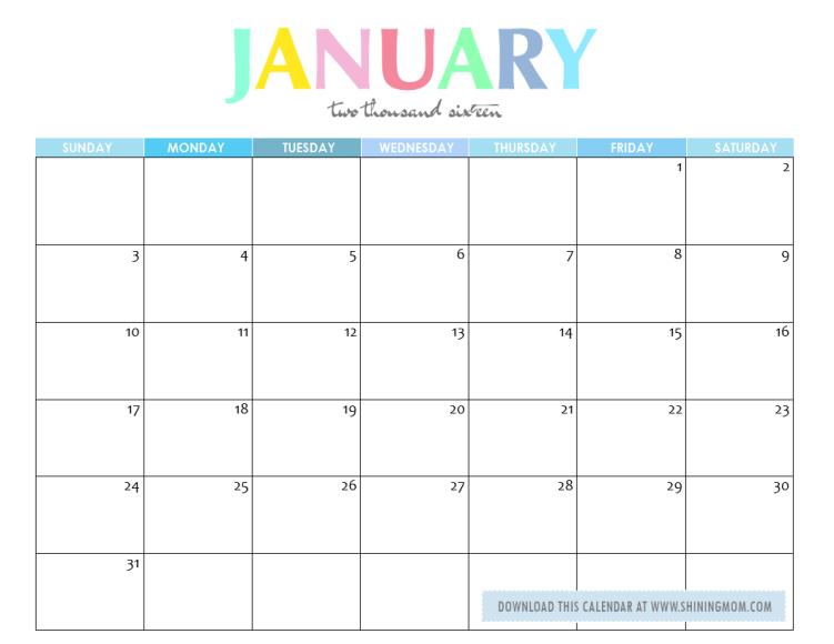 free printable your lovely 2016 calendars calendar pinterest