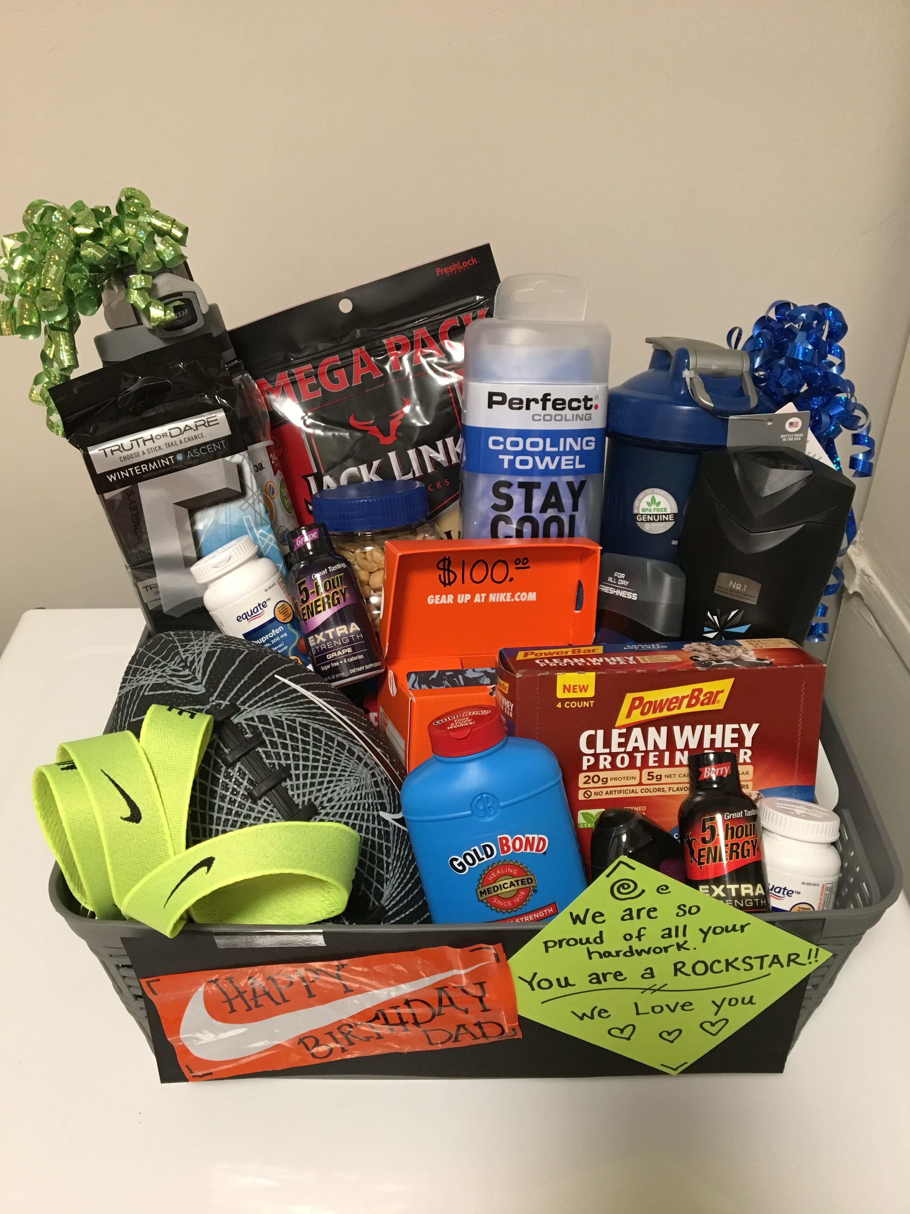 Fitness Gift Basket For Him : fitness, basket, Fitness, Baskets, Valentines, Gifts,, Boyfriend, Gifts
