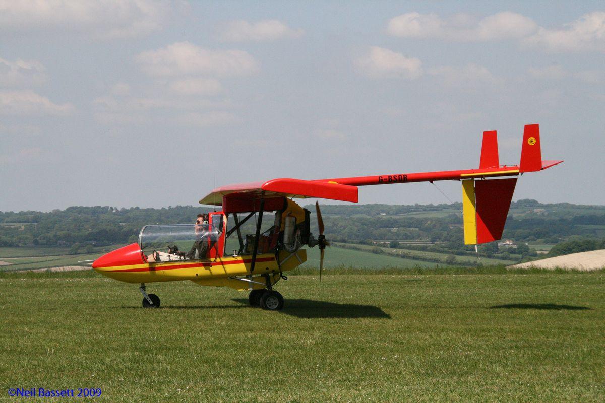 CFM Streak Shadow GBSOR Light sport aircraft, Aircraft
