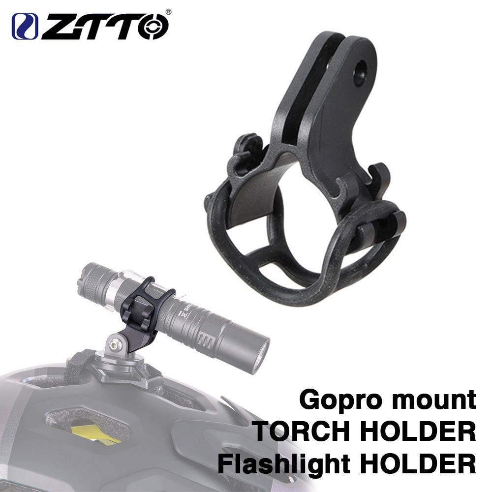 Bicycle Handlebar Light Bracket Mount Flashlight Holder Durable Universal
