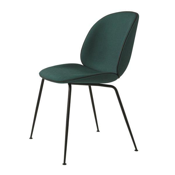 Beetle Dining Chair Conic Base Fully Upholstered In 2020 Beetle Chair Gubi Beetle Chair Dining Chairs